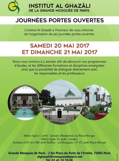 JOURNÉES PORTES OUVERTES 2017