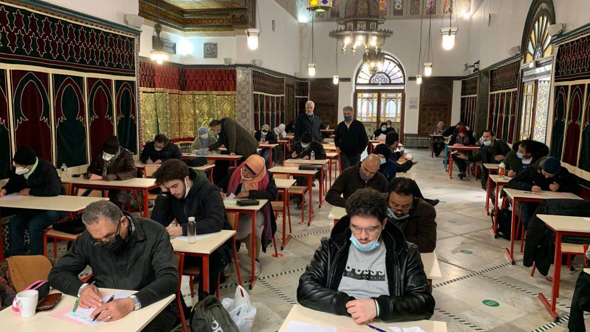Week-end d'examens pour les étudiants de l'institut