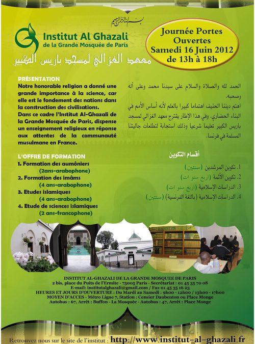 Journée Portes Ouvertes Samedi 16 juin 2012