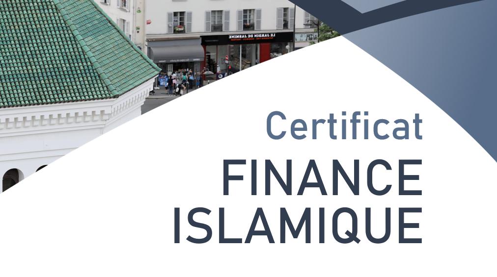 Lancement d'un certificat Finance islamique