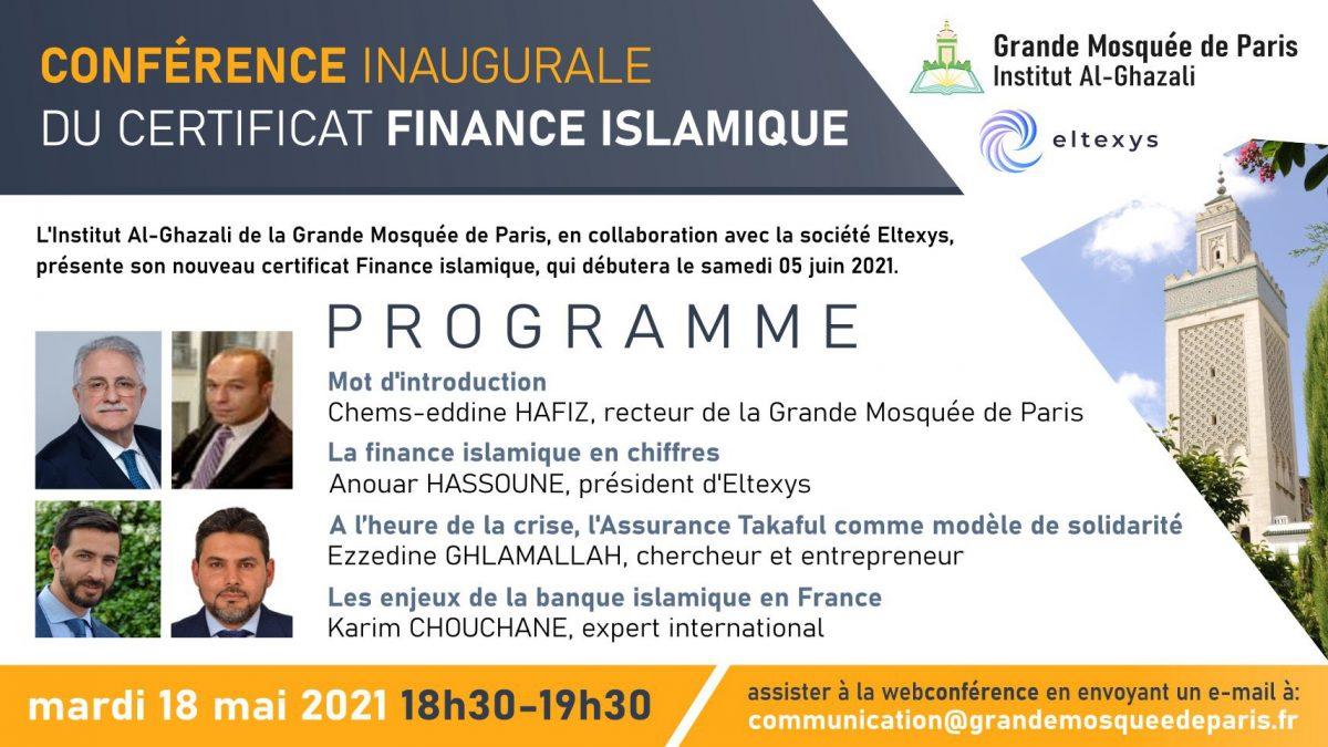 Conférence inaugurale de notre Certificat finance islamique