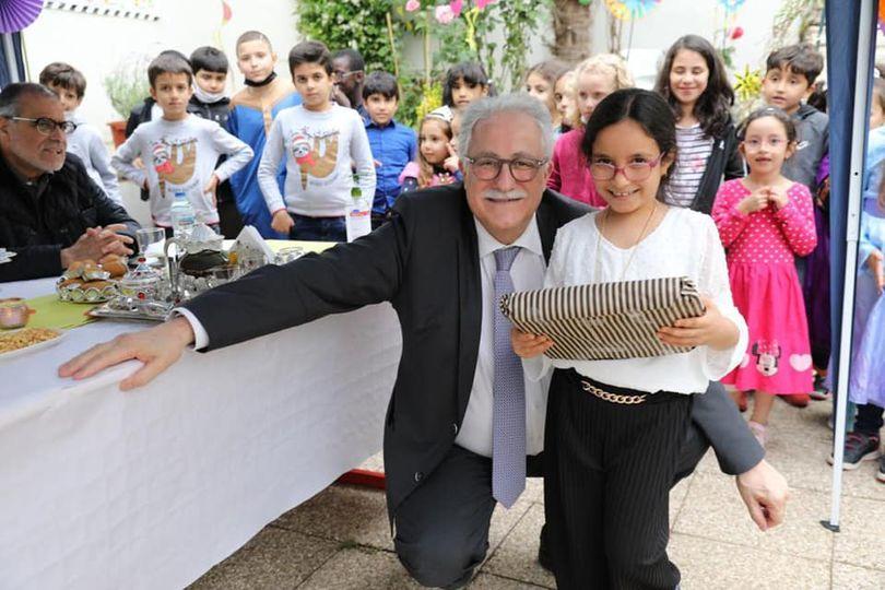 Fête de fin d'année pour les enfants de notre école de langue arabe